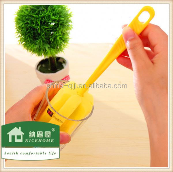 household cleaning tools olive oil bottle with cap with brush