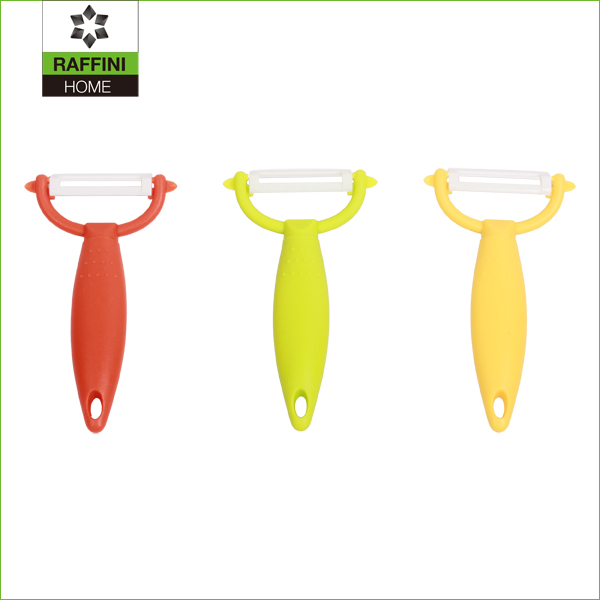 hot selling Y shape ceramic blade fruit apple peeler
