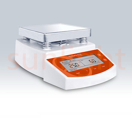 MS400 Hot Plate Magnetic Stirrer, Digital Magnetic Stirrer with Heating Function, 2L, 400 Celsius