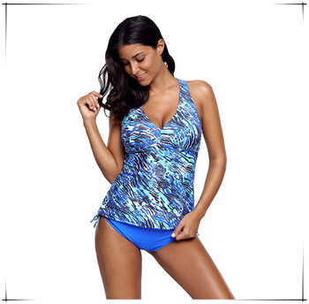 Cami Swim Top and Panty Set Tankini Two piece Female Swimsuit