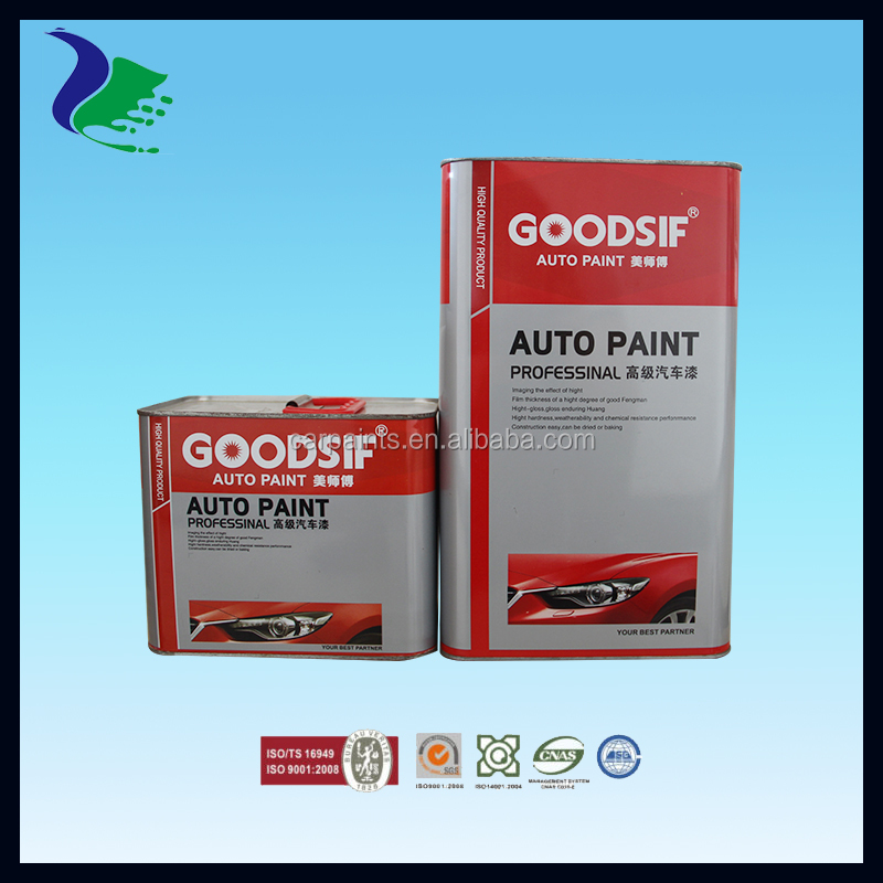 Automotive Spray Paint Hardener For Car Body ( Manufacture In ...