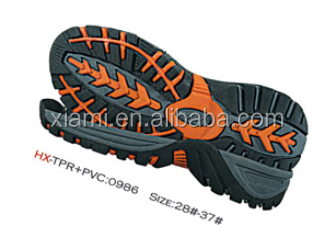 clearance sale price cutting skidproof sport sandal shoes TPV sneakers big sole