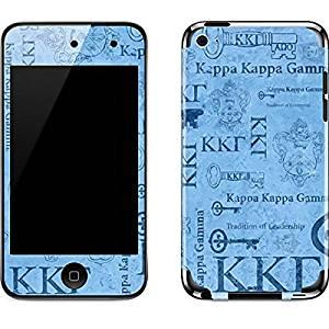 Kappa Kappa Gamma iPod Touch (4th Gen) Skin - Kappa Kappa Gamma Pattern Print Vinyl Decal Skin For Your iPod Touch (4th Gen)