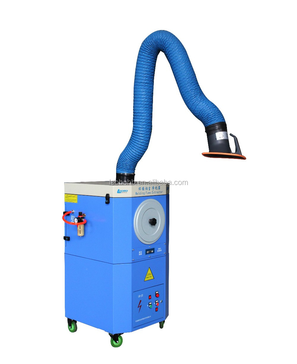 High effciency fume extractor/solder fume suction cleaner/portable soldering smoke evacuator