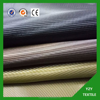 taffeta 210t Yarn Dyed 100 Polyester 230t taffeta Lining fabric for Fur Coat
