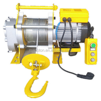 1000kgs Mute Motor Electric Winch Construction Material Crane Portable Roof  Winch Hoist - Buy Construction Material Hoist Portable Roof Winch
