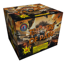High quality THEATRE OF PAIN 33 Shots 500 gram Consumer Cake Fireworks for sale