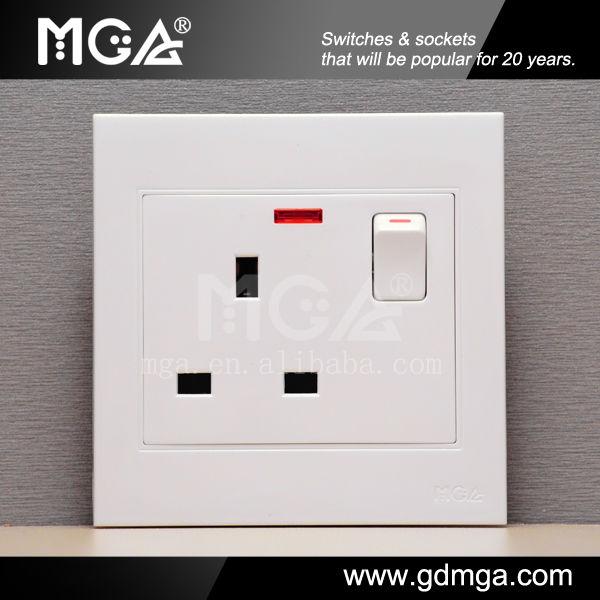 Luxury MK Switch Socket