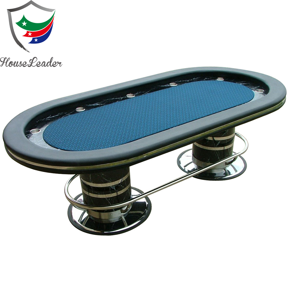 96 Inch Deluxe Texas Hold''em Casino Poker Table