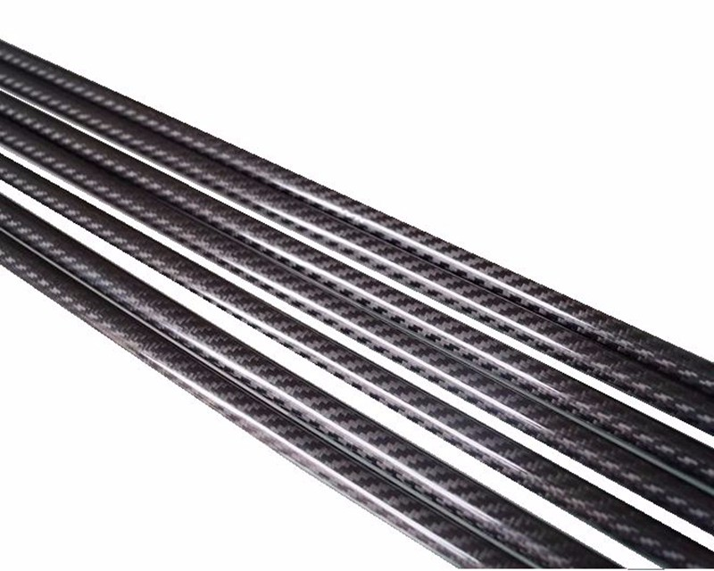 3k Twill Glossy Carbon Fiber Tube, Woven Carbon Fiber Tube (34)