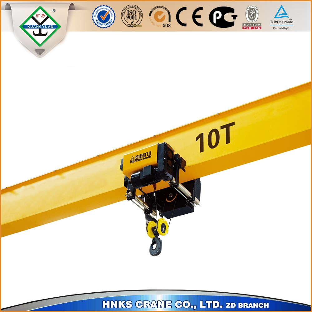 FEM Type 10Tons single Girder Overhead Crane