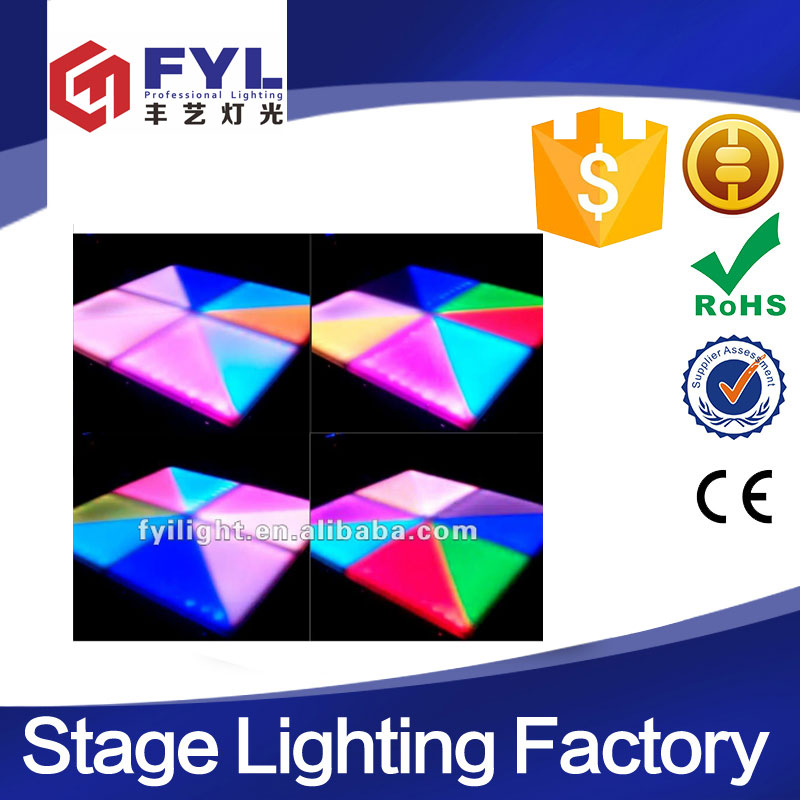 professional guanghzou manufacturer lighted disco led dance floor