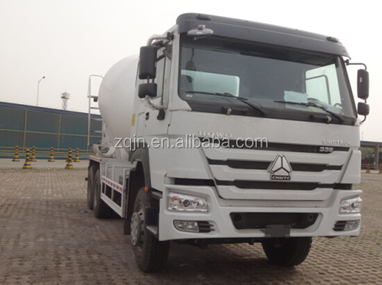sino howo 371hp China second hand concrete mixer trucks