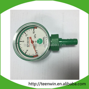 Teenwin cheapest PE pressure gauge for biogas