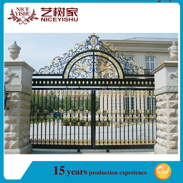 Wrought Iron Main Gate Door Designs
