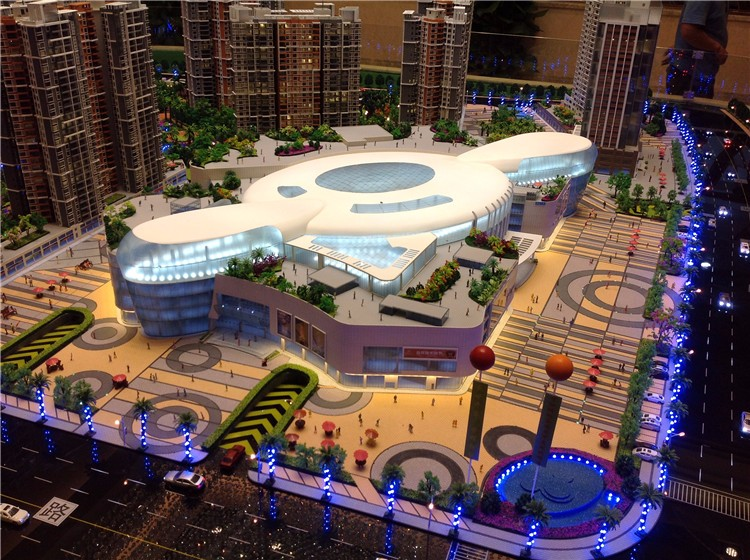 Commercial miniature building model maker 3d models famous for 3d house model maker