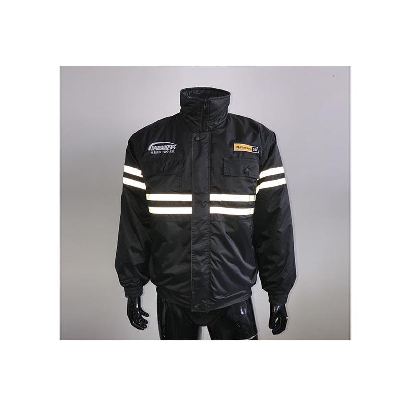 48b0258f0e073a 100% Polyester Weiche Shell Sicherheit Arbeit Tragen Winter Jacke mit  Elastischen Boden und Manschette