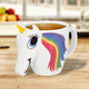 New Unique Shape Sublimation Personalized Custom logo Heat Coloring Unicorn Mug Magic
