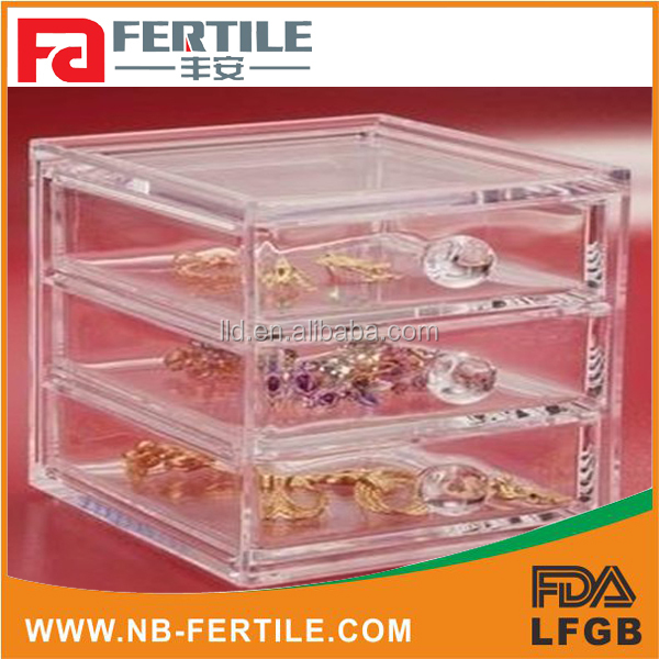 423209 acrylic makeup drawer,acrylic 7 drawer & clear makeup organizer,acrylic drawer divider
