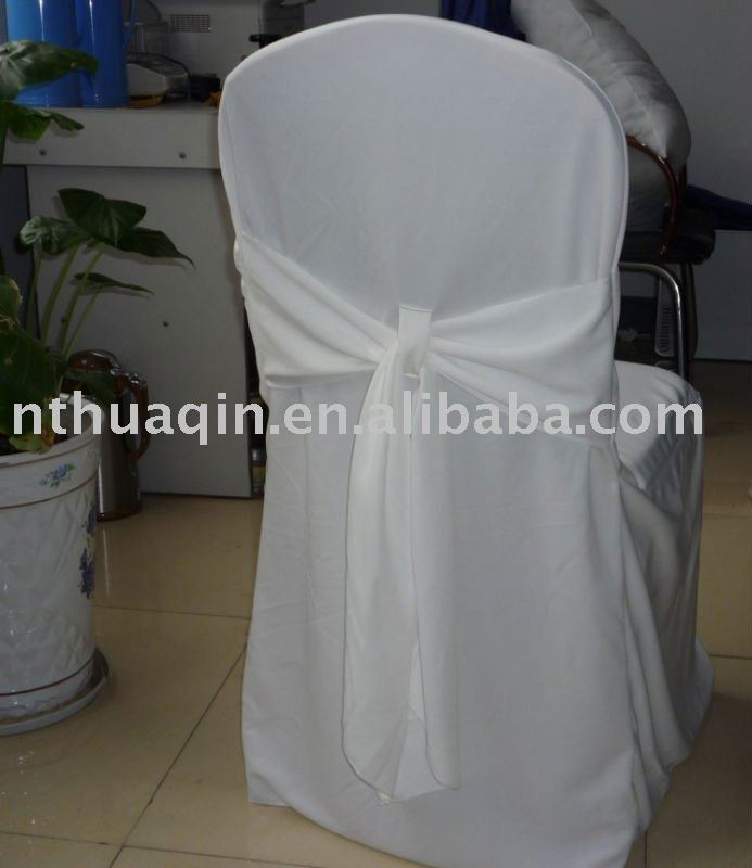 Fabulous White Poly Jersey Chair Cover With Sash Wedding Tie Back Chair Covers Buy Scuba Fabric Chair Cover With Sash Banquet Scuba Chair Cover White Gmtry Best Dining Table And Chair Ideas Images Gmtryco