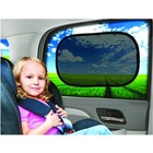 Static Cling Electrostatic Film Car Sunshade Baby Foldable Car Side Window Sun Shade
