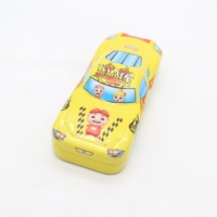 metal carton cute Pencil case car shape pencil tin box for kid
