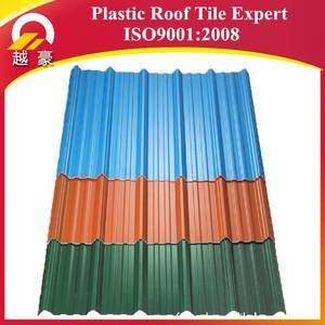PVC roof sheet China suppliers rppfing shingles construction building plastic products metal roofing