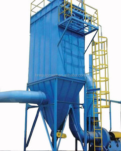 Reverse pulse industrial bag type magnetic dust collector