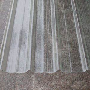 Best selling translucent uv protect green house roof tile FRP fiberglass plastic clear roofing sheet