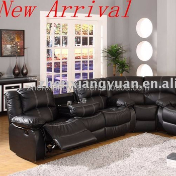 2019 Living Room Furniture Leather Reclining Sofa Traditional Corner With  Recliners - Buy Living Room Furniture Leather Reclining Corner With  Electric ...