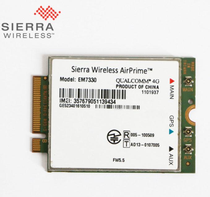 Sierra Wireless GNSS Sensor EM7340 4G LTE 64 Bit