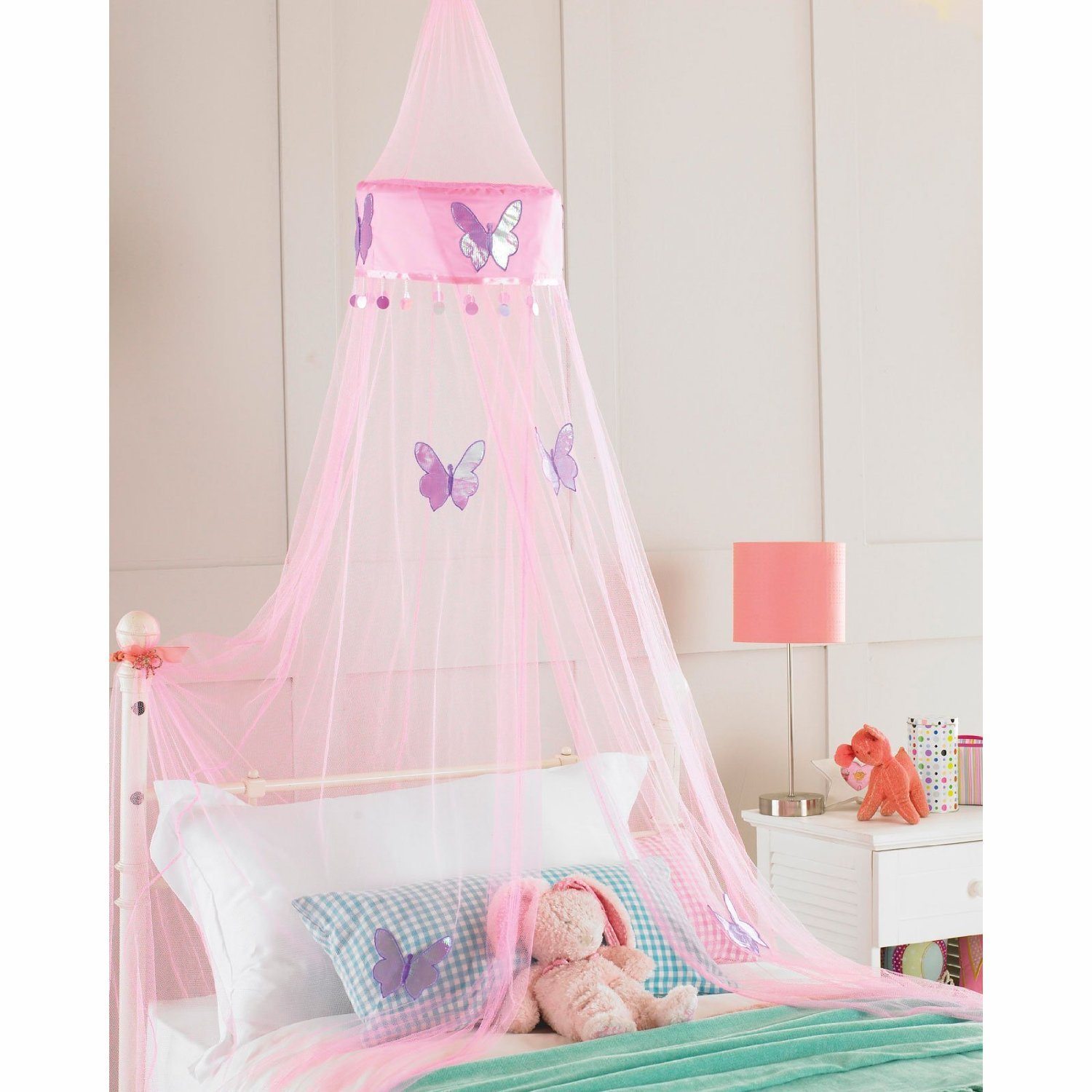 Get Quotations · Childrens Girls Bed Canopy Mosquito Fly Netting Net 30x230cm - Pink Butterfly by Country Club  sc 1 st  Alibaba & Cheap Canopy Netting For Girls Bed find Canopy Netting For Girls ...