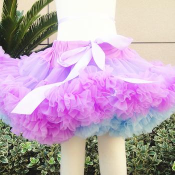 Seksi Penjualan Gaun Pesta Bayi Tutu Rok Fluffy Tutu Rok Untuk Anak