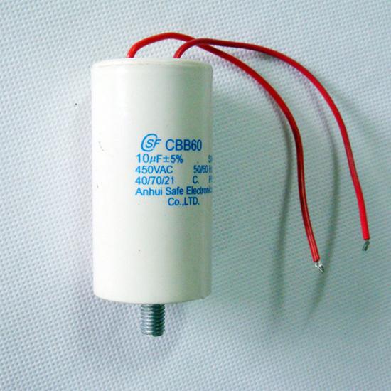 Polypropylene Motor CBB61 AC Motorkondensator Kondensator 450V AC 2uF 50//60Hz