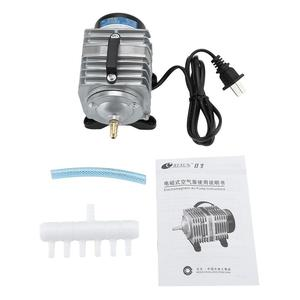 Electromagnetic Aquarium air Oxygen Pump 18W 38L/min Used for Fish Tank Seafood Pond 220V