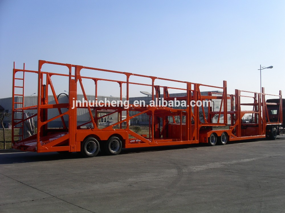 China Trailer Manufacturer 5 Cars To 8 Car Carrier Trailers For ...