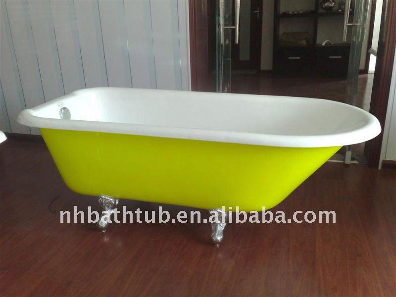 Ghisa colorata vasca da bagno piccola vasca durevole vasca da bagno vasca da bagno id prodotto - Vasca da bagno piccola ...