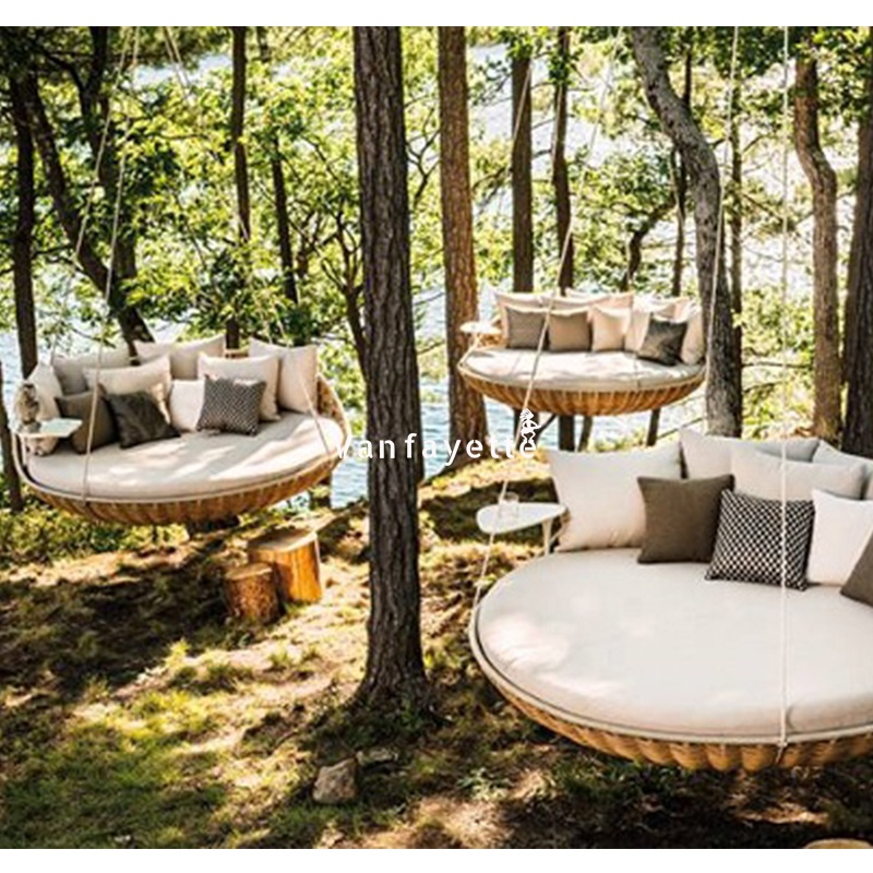 Outdoor Garden Rattan Swing Day Bed Swing Hanging Garden Bed Buy Swing Bed Rattan Swing Bed Swing Day Bed Product On Alibaba Com
