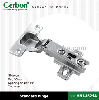 Slide on Two Way FGV Hinges, View fgv hinges, Gerbon Product Details from  Gerbon Hardware Accessories (Shanghai) Co , Ltd  on Alibaba com