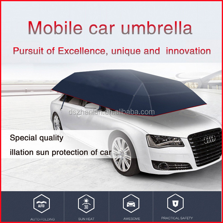 2017 new style automatic portable car umbrella removable