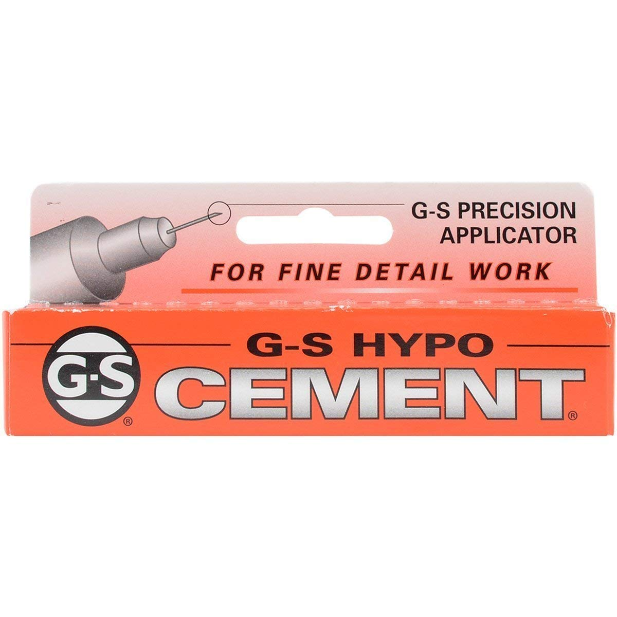 G-S Hypo-Tube Jewelers Cement Clear 1/3 oz