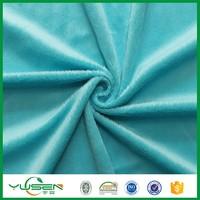 Weft knitting toys stripe Velvet Curtain Fabric