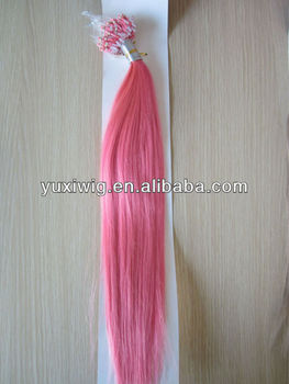 Red micro beads hair extension 18 8 32inch buy red micro beads red micro beads hair extension 18quot pmusecretfo Choice Image