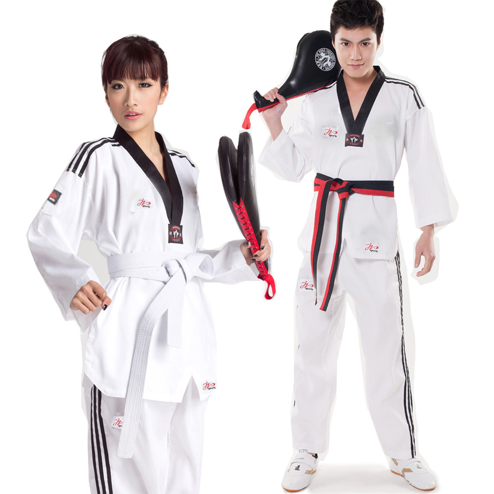 Mooto Kukkiwon Demoteam Uniform WTF Taekwondo Uniforms Tae Kwon Do Dobok Korean