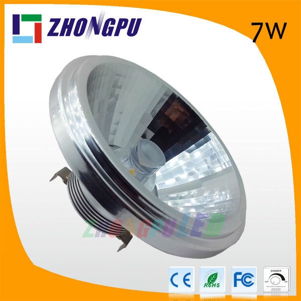 7W dimmable ar111 led g53 10w led qr111 220v
