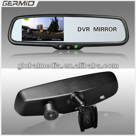 Car Rear View Mirror Gps With Dvr,Radar Detector,Bluetooth ...
