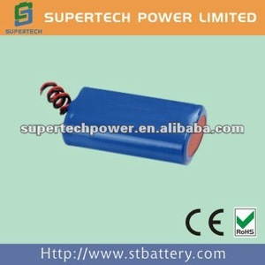 high quality 18650 6v li-ion battery for lamps