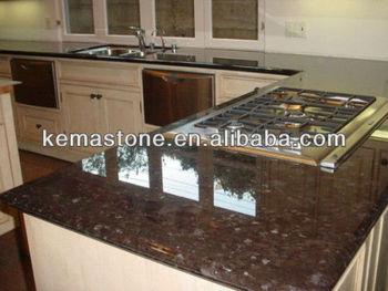 Marvelous Antique Brown Imitation Granite Countertop