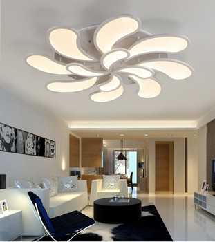Flower Acrylic Led Ceiling Light Modern Living Room Ceiling Lamps Bedroom  Lamparas Lighting For Home Indoor Decoration Md85080 - Buy Acrylic Led ...