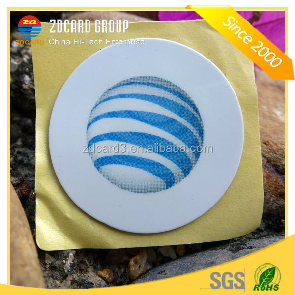 Customized passive PVC/PET/Paper progrmmable printable 13.56mhz rfid tag